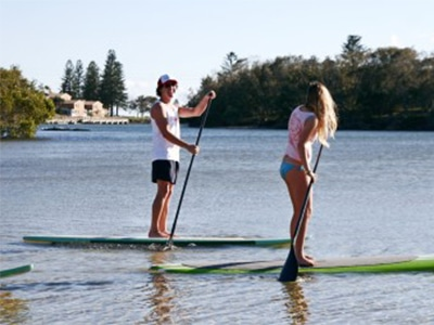 stand up paddle board kingscliff nsw