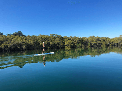 Stand Up Paddle Boarding Kingscliff NSW