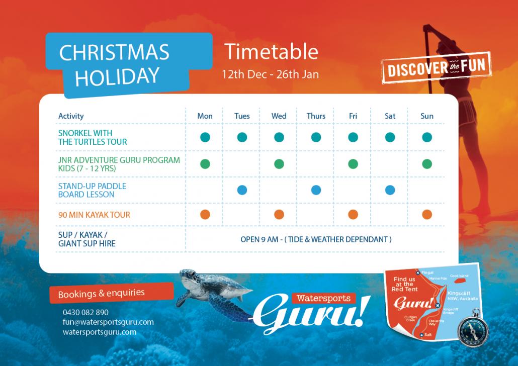 Watearsports Guru Christmas Calendar